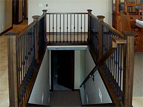 Eagle stair case