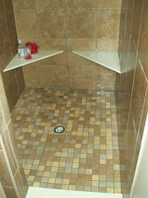 McCool Junction tile shower