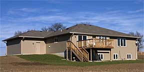 Raymond Custom Acreage deck