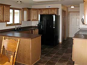 Raymond Custom Acreage kitchen