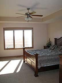 Raymond Custom Acreage master bedroom