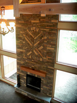 Elmwood fireplace